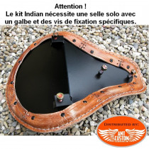 Option - Selle solo Indian Scout avec fixations Spéciales