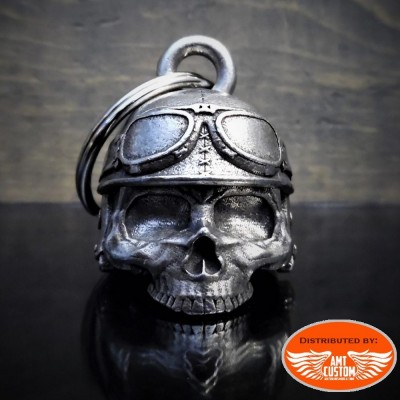 Motorcycle helmet skull head bell motorcycles custom