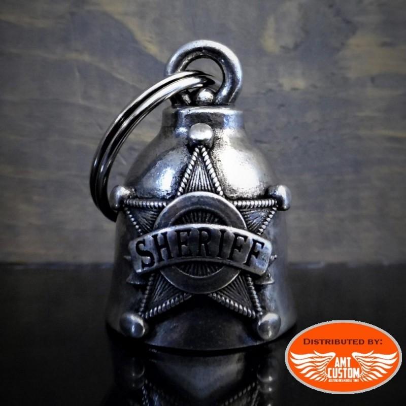 Clochette porte-bonheur sheriff
