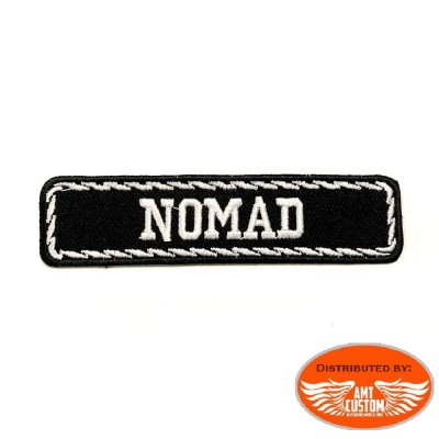 Patch écusson Biker Club Moto NOMAD