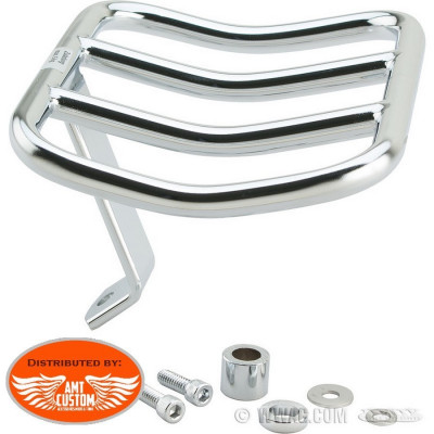 Sportster Rack porte-bagage Chrome pour Harley XL1200C selle duo