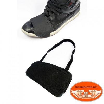 Protection en cuir pour chaussure