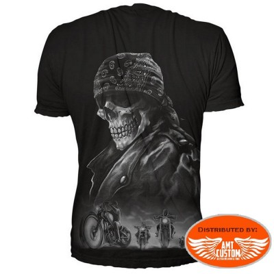 "T-shirt biker ""From Hell Tee"""