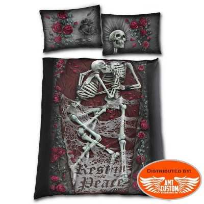 Bed linen Rest in peace - Duvet cover + pillowcases.