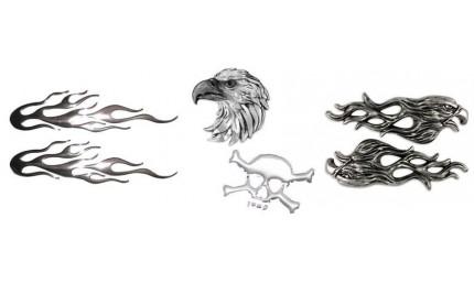 3D stickers decals