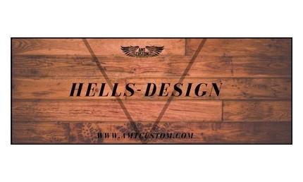 Hells-design motorcycle