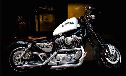 1 Handlebar Riser For Harley Sportster XL 883 1200 Dyna Softail Electra Glide Chopper