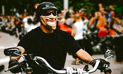 Bikers Face Masks